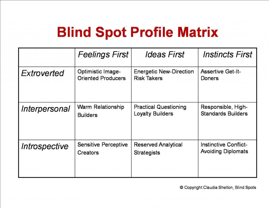 blind spots coaching america 39 s marketing. Black Bedroom Furniture Sets. Home Design Ideas